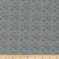 Kaufman Tootal:Twill Overprints Rose Grey