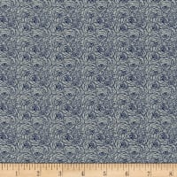Kaufman Tootal:Twill Overprints Rose Blue