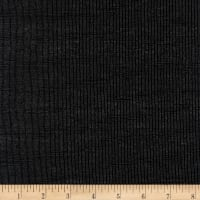 Kaufman Essex Yarn Dyed Metallic Linen Blend Onyx