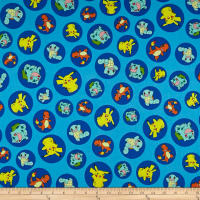 Kaufman Pokemon Characters Blue