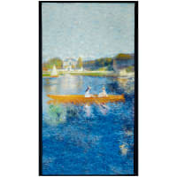 "Robert Kaufman Renoir Boat Lake 24"" Panel Water"