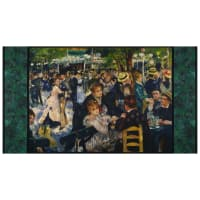 "Kaufman Renoir People 24"" Panel Multi"