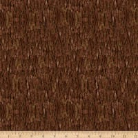 QT Fabrics Nocturnal Wonders Tree Bark Brown
