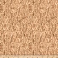 QT Fabrics Nocturnal Wonders Tree Bark Tan