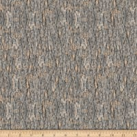 QT Fabrics Nocturnal Wonders Tree Bark Gray