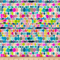 QT Fabrics Barbarian Wild & Fruity Paint Splashes Multi