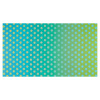 QT Fabrics Party Like A Unicorn Ombre Dots Blue/Green