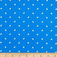 QT Fabrics  Sweet Caroline Tic Tac Dot Light Navy