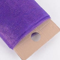 "54"" Glitter Tulle (Bolt, 10 Yards) Purple"