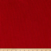 Telio Nouveau Poly Nylon Hi-Low Corduroy Red