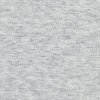 Telio Organic Cotton Melange Jersey Light Grey