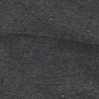 Telio Organic Cotton Melange Jersey Dark Grey