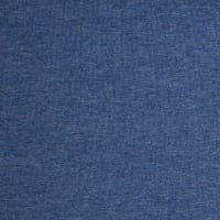 Telio Stretch Organic Cotton Melange Jersey Denim Blue