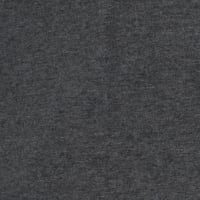 Telio Stretch Organic Cotton Melange Jersey Dark Grey