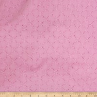 Telio Juliet Cotton Eyelet Candy Pink