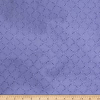 Telio Juliet Cotton Eyelet Dark Lavender