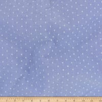Telio Cotton Poly Swiss Dot Indigo