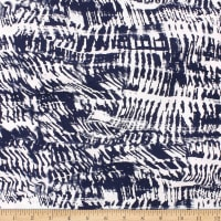 Telio Stretch Bamboo Rayon Jersey Print Tie Dye Ink