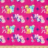 My Little Pony Refresh Friends Flannel Magenta