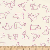 Kaufman On The Lighter Side Origami Magenta