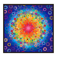 Kaufman Effervescence Digital Panel Rainbow