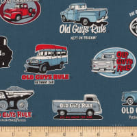 Kaufman Old Guys Rule Vehicles Navy
