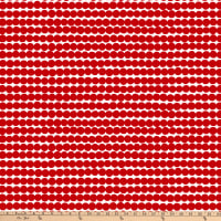 Marimekko Rasymatto Cotton White/Red