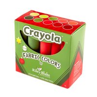 Riley Blake Designs Crayola Solids Fat Quarter Box 10 Pcs. Christmas