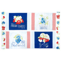 Wilmington Berry Sweet Placemat Panel Multi