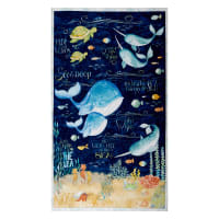 """Wilmington Water Wishes Large 27"""" Panel Multi"""