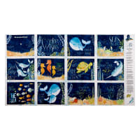 "Wilmington Water Wishes Book 27"" Panel Multi"