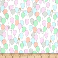 Michael Miller Best of Sarah Jane Flannel Balloons Soft