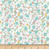 Michael Miller Best of Sarah Jane Flannel Meadow Spring