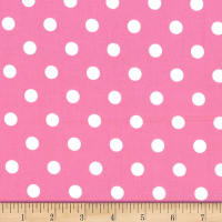 Michael Miller Fabrics That's It Dot Bubble Gum