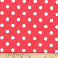 Michael Miller Fabrics That's It Dot Lipstick
