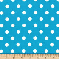Michael Miller Fabrics That's It Dot Turquoise
