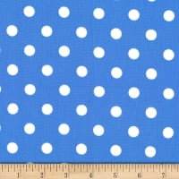 Michael Miller Fabrics That's It Dot Periwinkle
