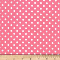 Michael Miller Fabrics Dumb Dot Bubble Gum