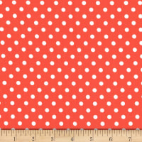 Michael Miller Fabrics Dumb Dot Persimmon