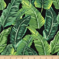 Michael Miller Fabrics  Lush Leaves Green