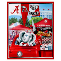 "NCAA Alabama Crimson Tide Digital Tailgate Cotton 36"" Panel"