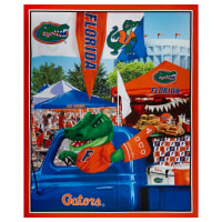 "NCAA Florida Gators Digital Tailgate Cotton 36"" Panel Multi"