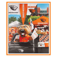 "NCAA Oregon State Beavers Digital Tailgate Cotton 36"" Panel"