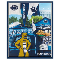 "NCAA Penn State Nittany Lions Digital Tailgate Cotton 36"" Panel"
