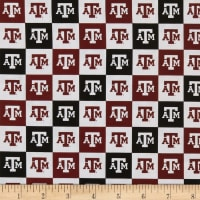 NCAA Texas A&M Aggies Broadcloth NCAA Check
