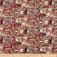 NCAA Florida State Pop Art Cotton Fsu-1165