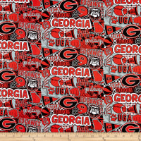 NCAA Georgia Bulldogs Pop Art Cotton