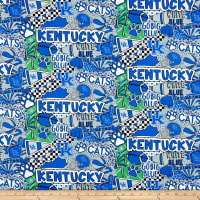 NCAA Kentucky Wildcats Pop Art Cotton