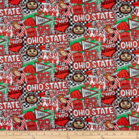 NCAA Ohio State Pop Art Cotton