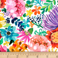 Dear Stella Digital Spring Theory Main Floral Multi